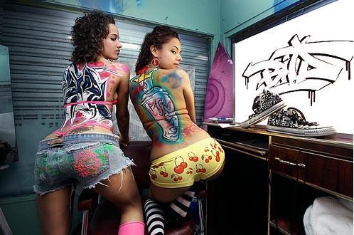 mulheres grafitadas10