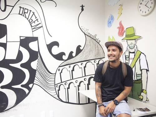 O artista Igor Nunes