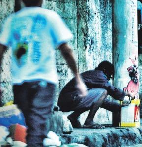 foto1_22082011204705No exercício da profissão, policiais convivem com usuários e traficantes