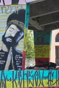 Grafites na regiao central de belo horizonte proximo ao viaduto de santa tereza 0